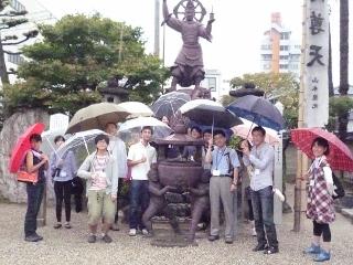 大ナゴヤ大学開校式授業 B級ナゴヤ発見!コンクリート仏像見学ツアー (320x240)
